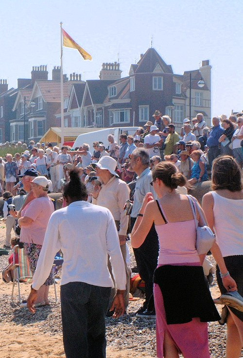 Southwold often pulls the crowds!
