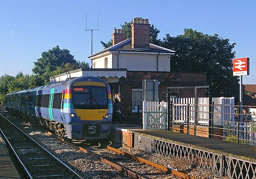 Halesworth Railway station is the closest station to Southwold.