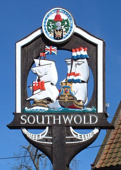 Southwold Town Sign