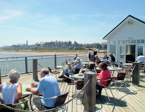 Spend a sunny afternoon on Southwold Pier!