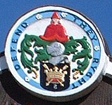 Southwold Town Seal as shown on the Southwold Town Sign